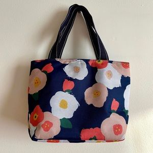 Cooler Lunch Floral Lunch Tote